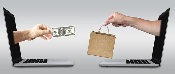 Benefits of online business - money in exchange for product or services.